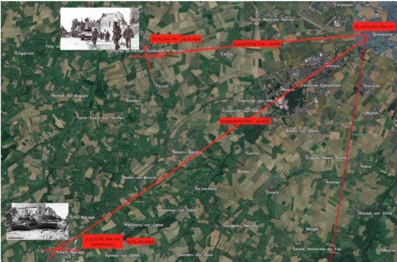 Waffen SS Soldbuch Normandy
