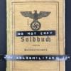 Soldbuch - Sonderführer (Z)